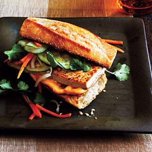 Lemongrass Tofu Banh Mi - 100 Vegetarian Meals - Cooking Light