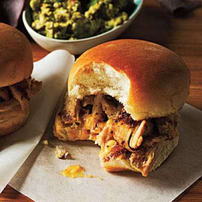 Grilled Chicken Sliders and Apricot Chutney Spread Recipe