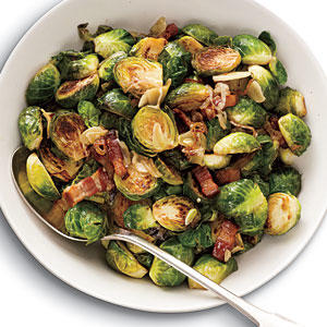 Brussels Sprouts With Bacon Garlic And Shallots