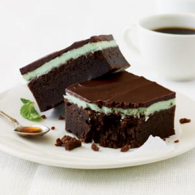 Chocolate Mint Bars Cooking Light