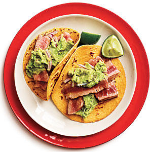 Recipe for a Comforting Cool Down: Salmon Fish Tacos with Avocado Slaw