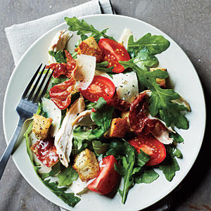 Chicken and Prosciutto Salad with Arugula and Asiago Recipe