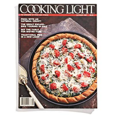 Okay, we admit, probably not the lightest thing to do for pizza...