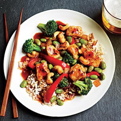 Honey cashew chicken with rice quick and easy asian for 24 star thai cuisine