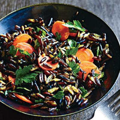 Wild Rice and Carrots Recipe