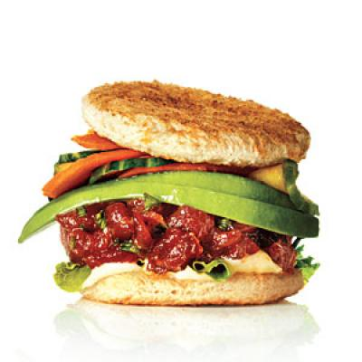 Tuna Tartare Sliders with Wasabi Mayo - Slider Recipes - Cooking Light