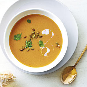 Red Lentil-Pumpkin Soup