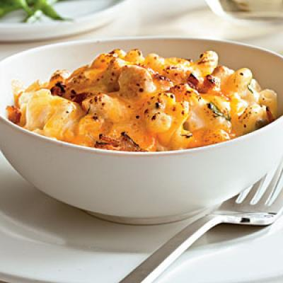 Bacon, Ranch, and Chicken Mac and Cheese Comfort Food Recipe