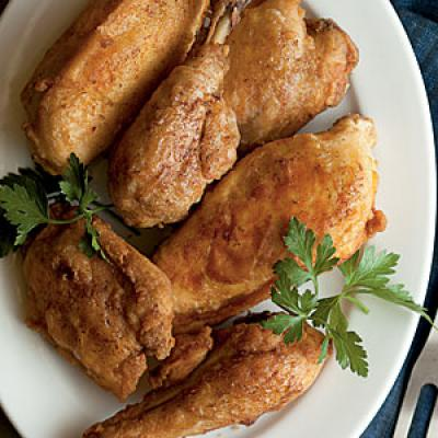 Pan-Fried Chicken Comfort Food Recipe