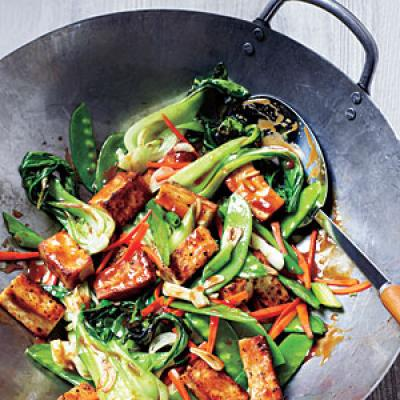 Veggie and Tofu Stir-Fry - 100 Vegetarian Meals - Cooking Light