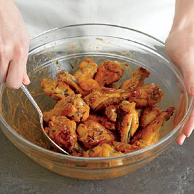 how to cook chicken wingw