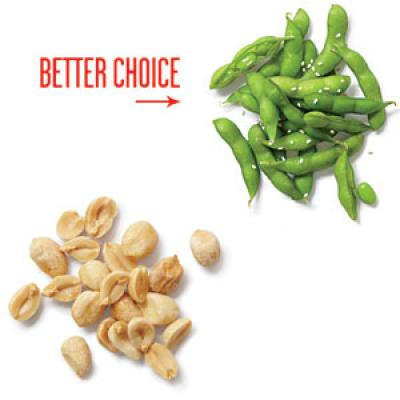 Instead of Peanuts, Try Edamame for a Protein-Filled Snack