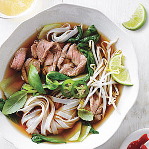 Beef Noodle Soup - Quick, 20-Minute Soup Recipes - Cooking Light