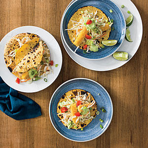 Fish stick tacos easy supermarket dinners cooking light for Fish stick tacos