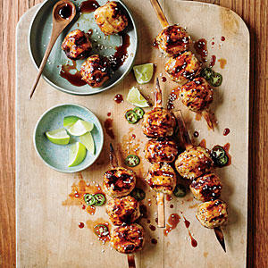 Tsukune (Japanese Chicken Meatballs) - Meatball Recipes ...