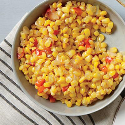 Bell Pepper and Corn Sauté