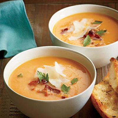 Creamy Sweet Potato Soup - Quick and Easy Soups and Stews for Dinner ...