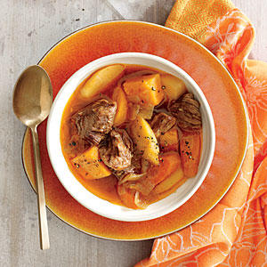 Beef with Onion, Sweet Potato, and Parsnip - MyPlate-Inspired Beef ...