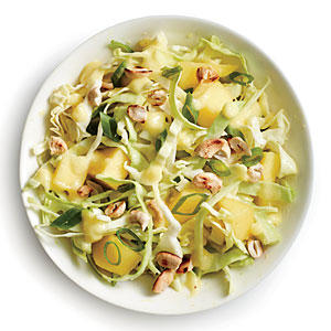 Cabbage with Mango Slaw Vinaigrette - Quick and Easy Side-Dish Recipes ...