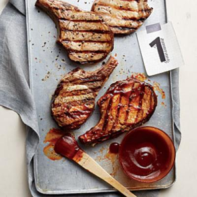 Why is brushing on the BBQ sauce so time-critical?