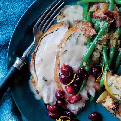 Fennel and Cumin-Roasted Turkey Breast with Thyme Gravy ...