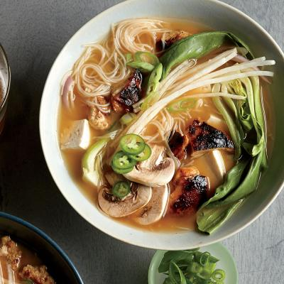 Chicken-Bok Choy Noodle Bowls - Use It Up Challenge: Recipes with Fish ...