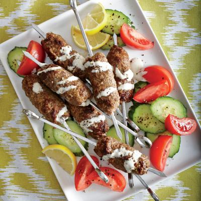 Middle+Eastern+Marinade+For+Kebabs Middle Eastern Kofta Kebabs with ...