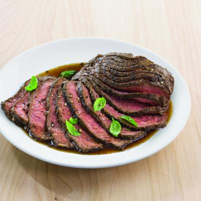 Seared Sliced Beef Sirloin