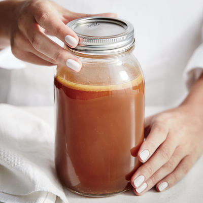 Rich Brown Chicken Stock