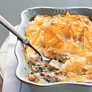 Chicken Potpie - 100 Easy Chicken Recipes - Cooking Light