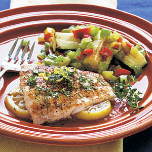 Recipe for red snapper fillets on the bbq