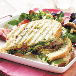 Fig And Prosciutto Grilled Cheese Sandwich Recipes — Dishmaps
