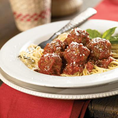 Lady and the Tramp Spaghetti and Meatballs