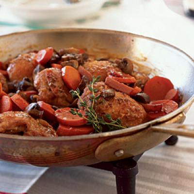 Quick Coq au Vin - 100 Easy Chicken Recipes - Cooking Light