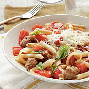 ... favas tomatoes and sausage recipes dishmaps pasta with favas tomatoes