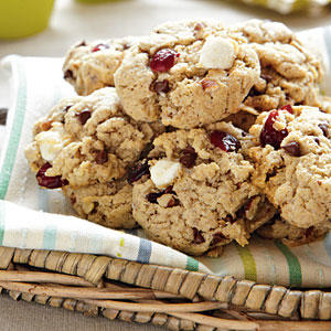 Chewy Gooey Marshmallow Cookies with Minichips