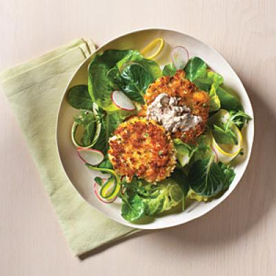 Crab Cakes with Spicy Rémoulade - The New Way to Cook Light - Cooking ...
