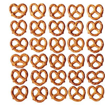 You always opt for pretzels as your healthy snack