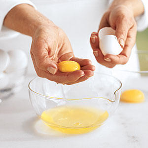 Step One: Start with the Eggs