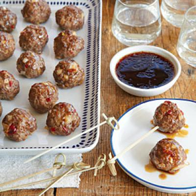 best sweet and sour meatballs recipe yummly the best sweet and sour ...