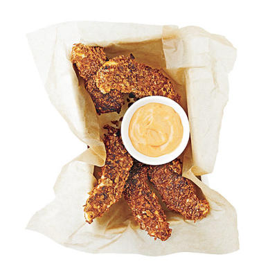 Healthy Kids Meal Chicken Fingers Recipe