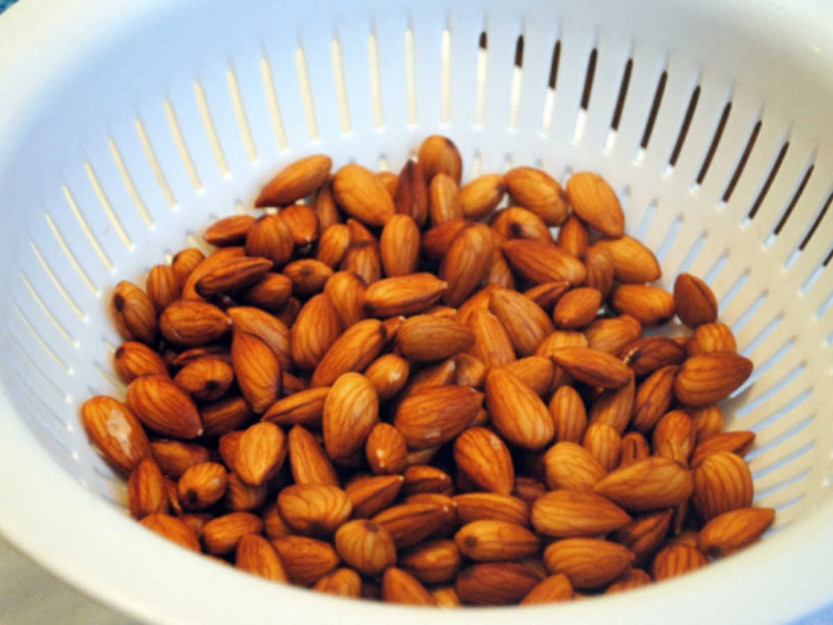 Soaking Almonds