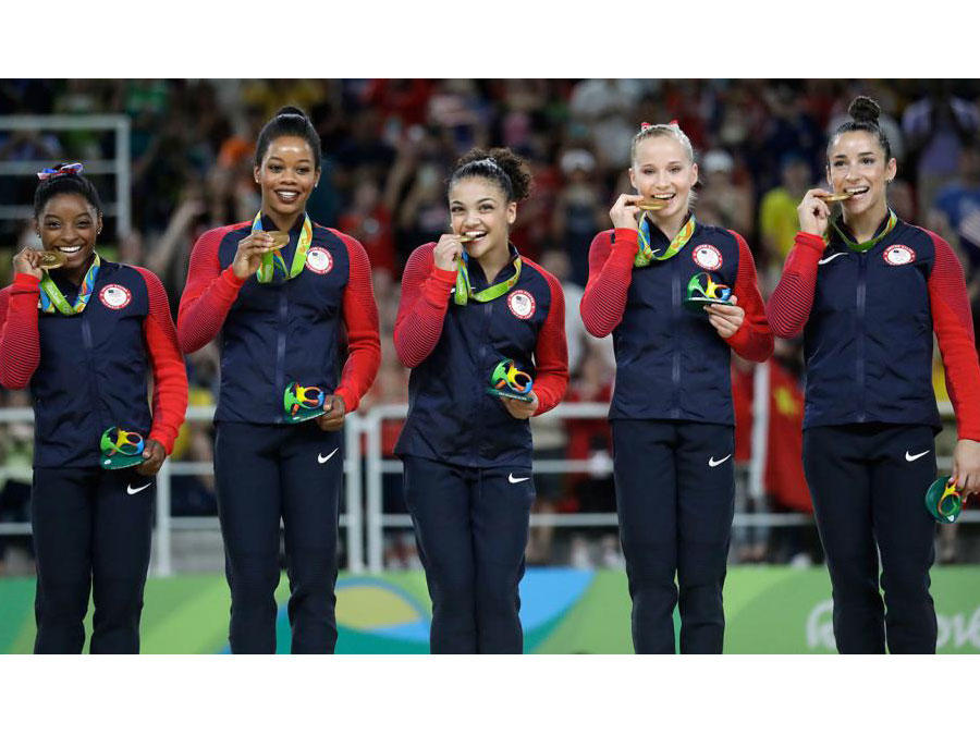 Why We're Celebrating Team USA's Gold Wins and Not Their Diets