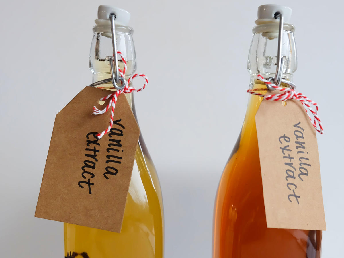 Homemade Vanilla Extract Comparison