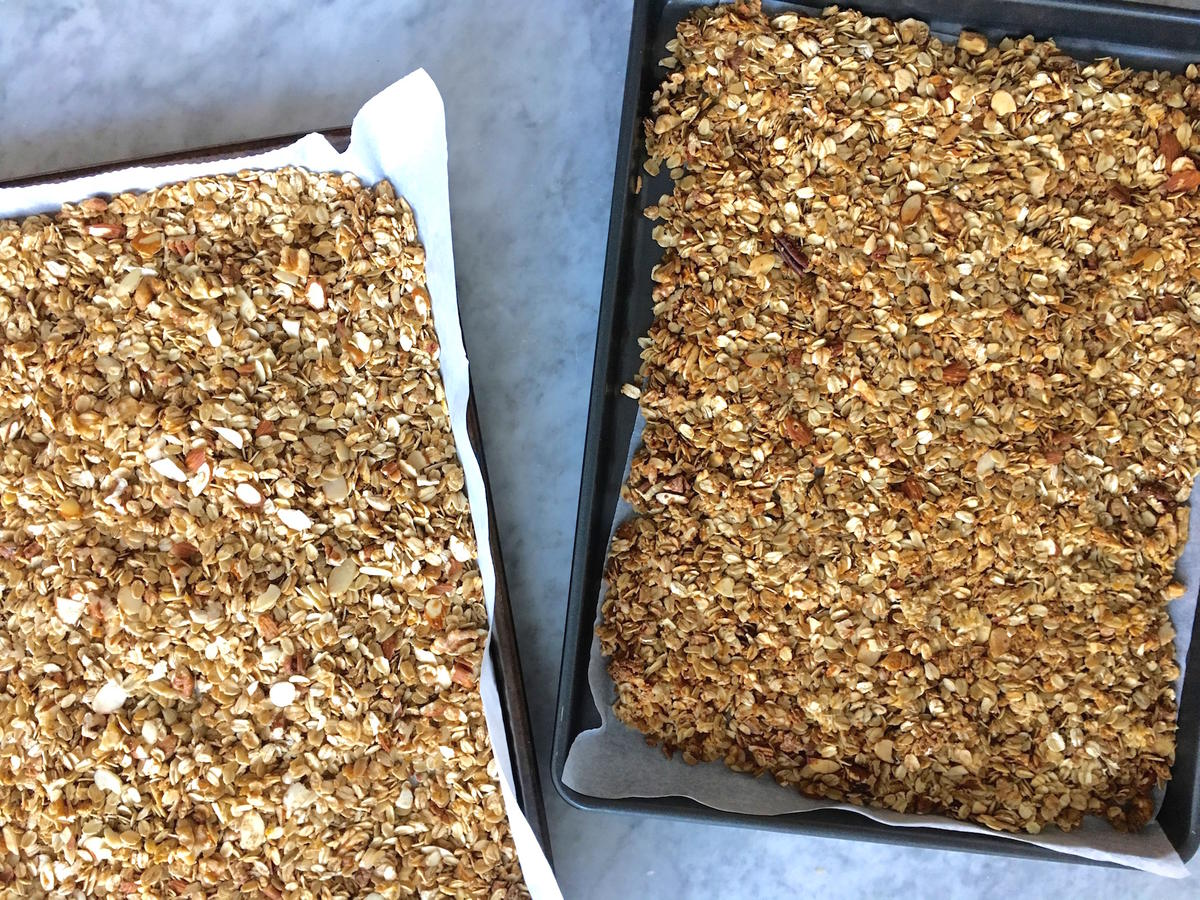 DIY Big Batch Clean Eating Granola