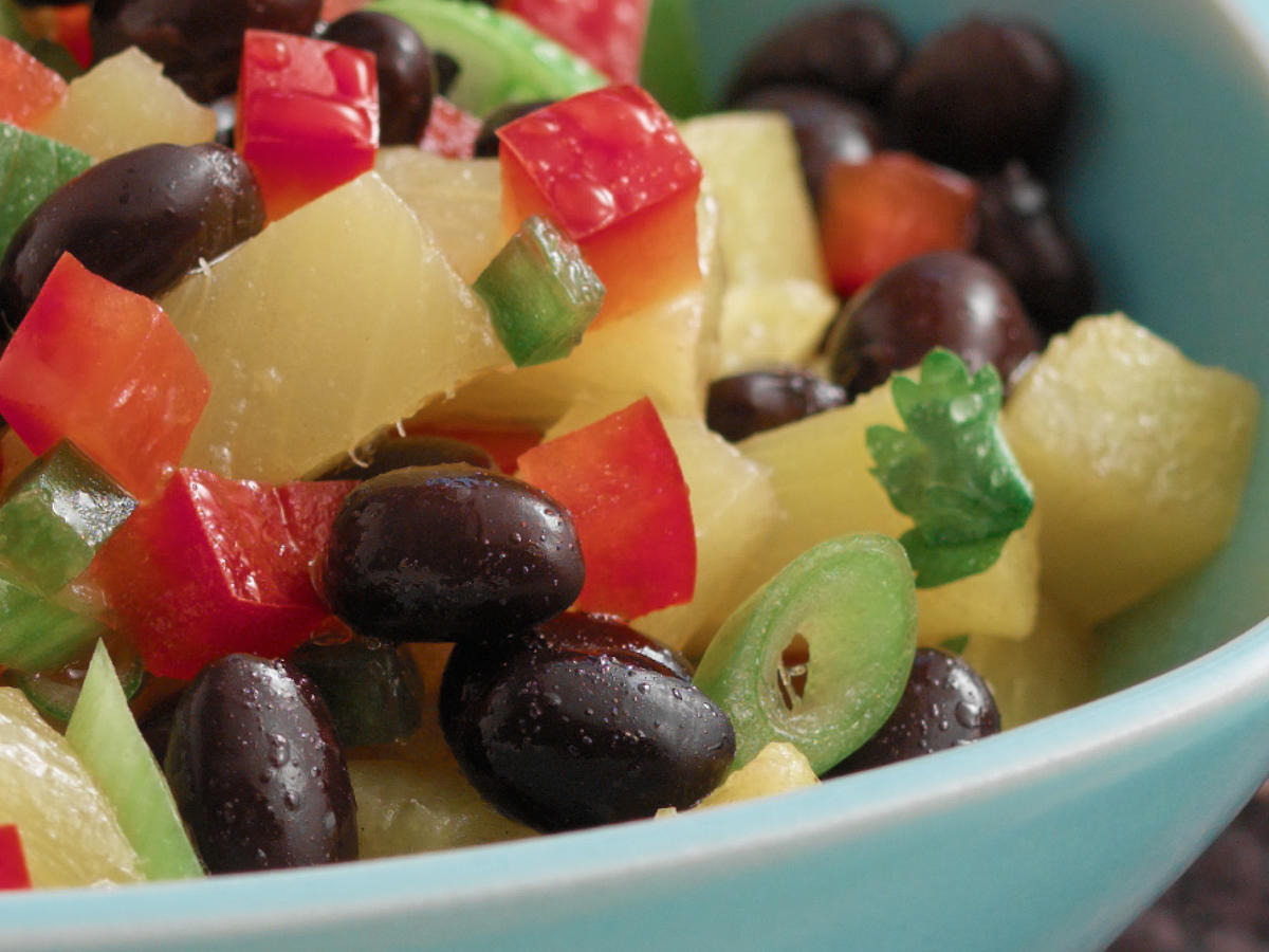 BUSH'S® Black Bean Salsa with Pineapple [Ad]