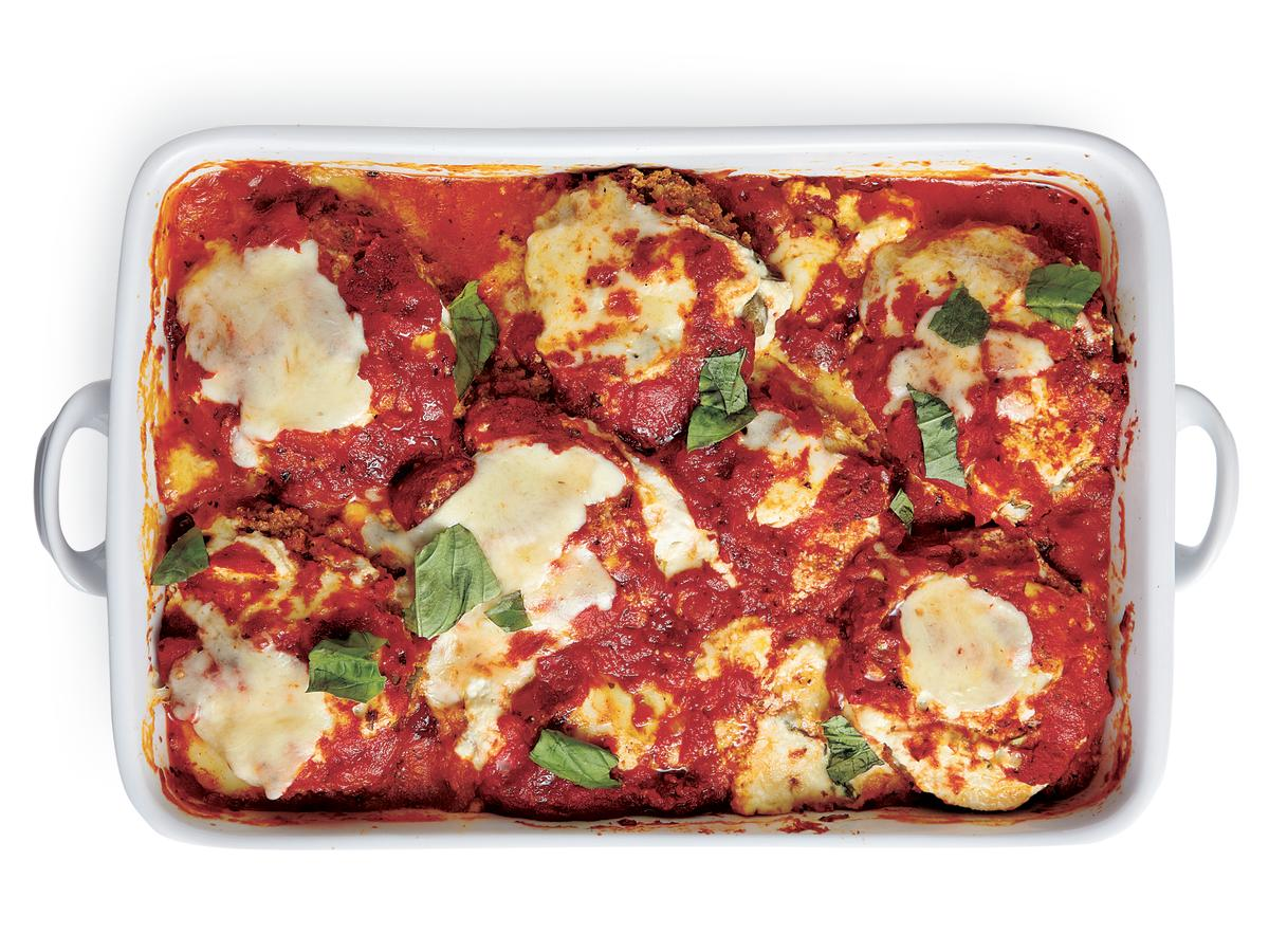 Recipe Makeover: Healthy Eggplant Parmesan
