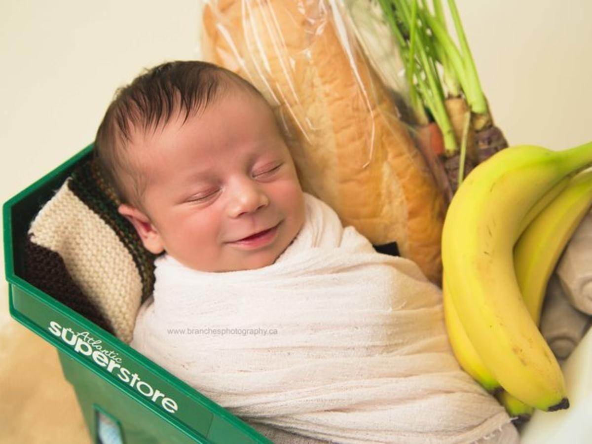 Baby Grocery Cart 2