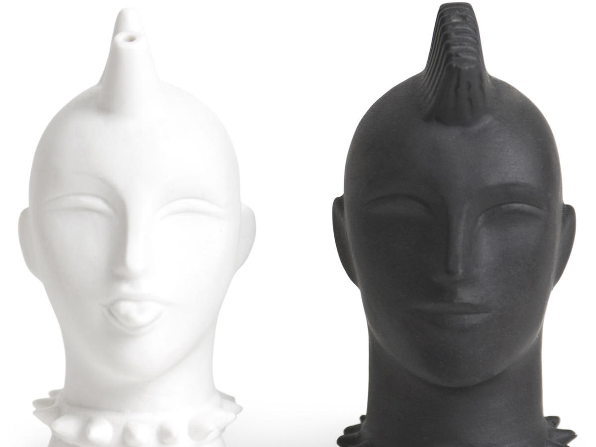 Mod Mohawk Salt and Pepper Shakers