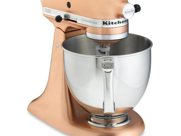 KitchenAid Rose Gold Mixer